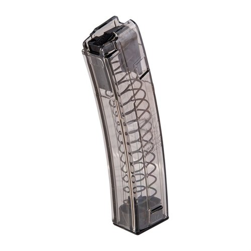 H&K MP5 Magazine 9mm 20rd Polymer Translucent