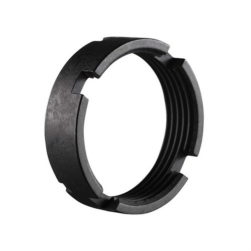 AR-15 MBA-3/MBA-4 Carbine Castle Nut Black Steel