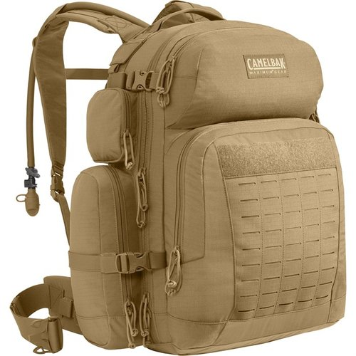BFM 100oz/3L Hydration Plus Cargo Pack Coyote