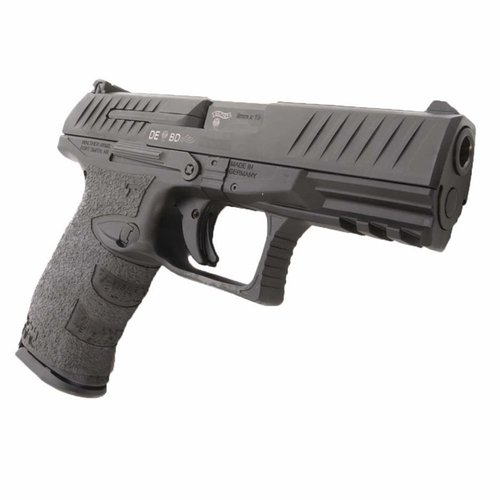 Walther PPQ 9/40 Grip Rubber Black