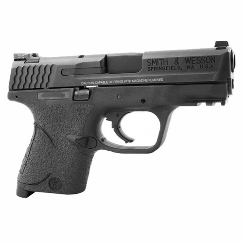 S&W M&P Compact Small Backstrap Grip Rubber Black
