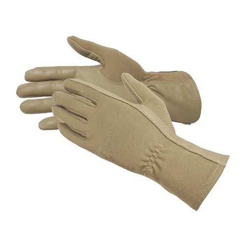 Aviator Flight Ops Gloves Large, W/ Nomex