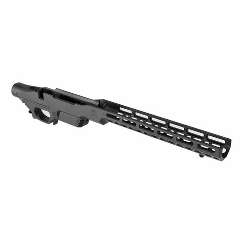 Remington 700 Long Action Chassis Matte Black