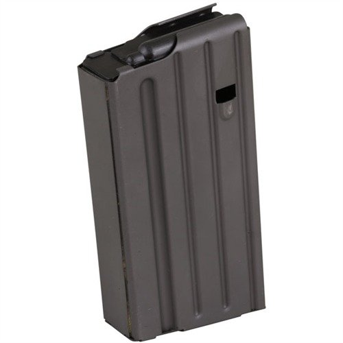 AR 308 Magazine 20rd Steel Black