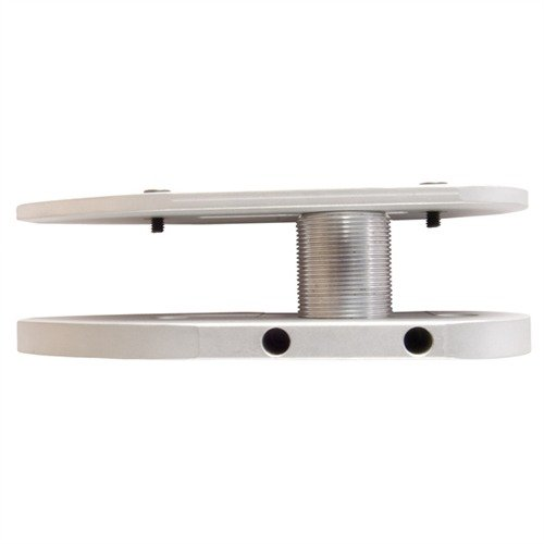 Auto Adjustable Butt Plate Silver Aluminum
