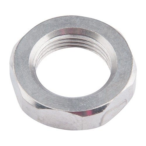"AR-15  .750 Jam Nut 1/2-28"" Stainless Steel Silver"
