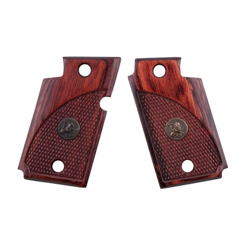 Sig 938 Rosewood Checkered