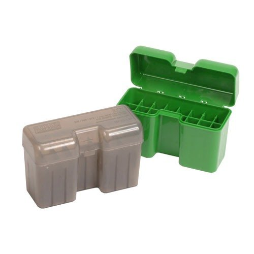 Ammo Boxes Rifle Green 7mm Remington - 404 Jeffery 22