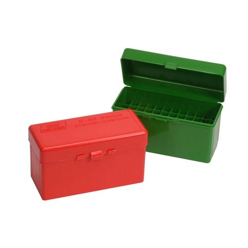 Ammo Boxes Rifle Green 220 Swift - 458 Winchester Magnum 60