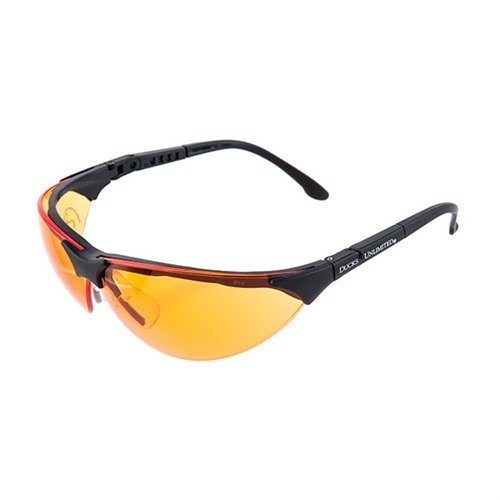 Amber Blue/Bronze/Clear/Orange Pyramex Shooting Glasses Blk