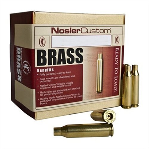 22-250 Remington Brass 50/Box