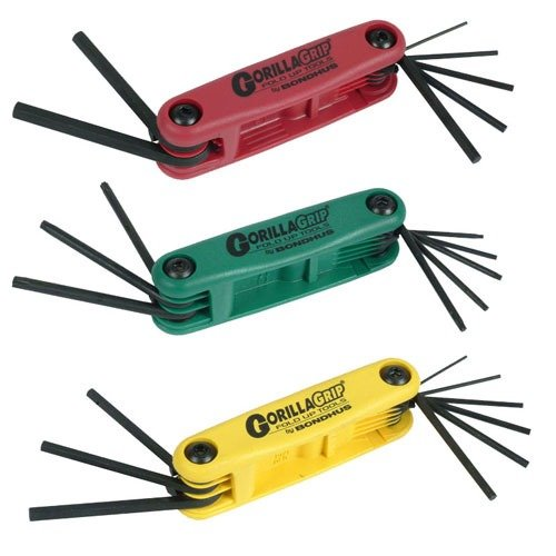 Bondhus Gorilla Wrench Set-Includes Metric, Std, and Torx