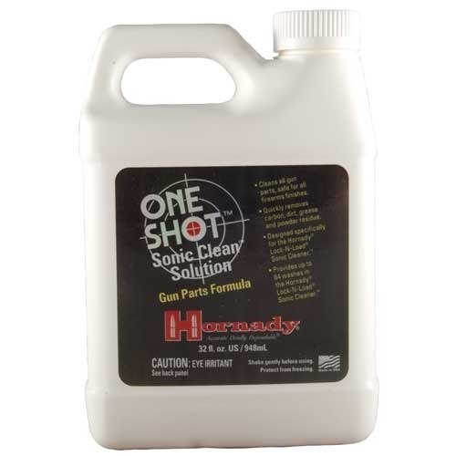 Hornady One Shot Clean Solution, Gun Parts Formula, 32 fl oz
