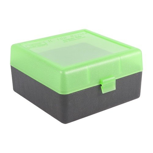 Ammo Boxes Rifle Green/Black 223 Rem- 308 Winchester 100