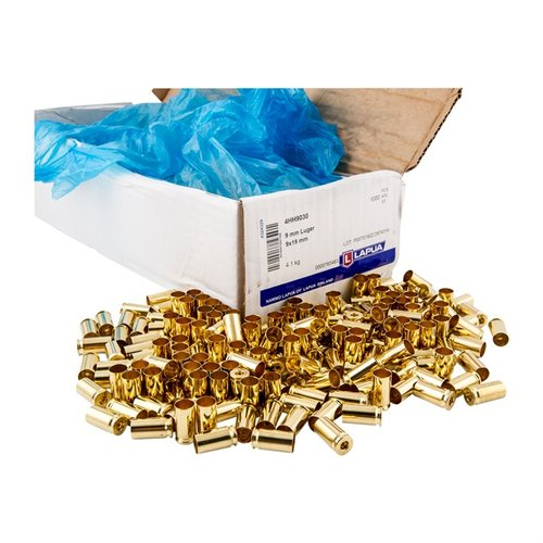 Lapua Brass - 9mm Luger 1,000/Box