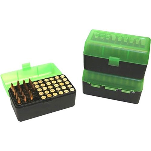 Ammo Boxes Rifle Green & Black 257 Weatherby Magnum - 458 Wi