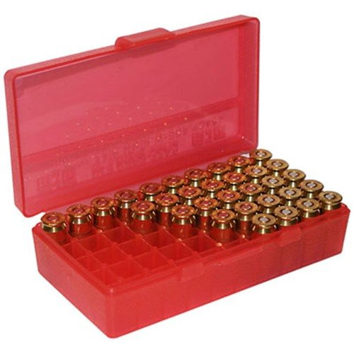 Ammo Box Pistol Red 9mm-380 50
