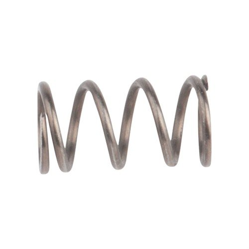Front Swivel Spring Steel Black