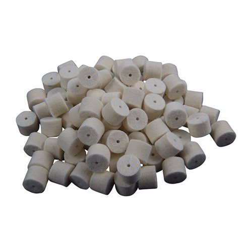 Plain Felt Pellets fits .50 Cal. Qty 250