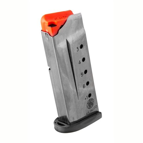 M&P Shield Magazine .45 6Rd Black