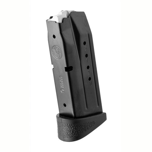 M&P Compact Magazine 9mm 12rd w/Finger Ridge