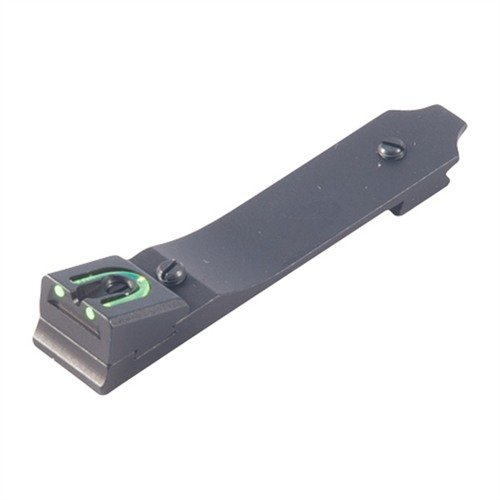 Marlin 2-Dot Fiber Optic Dovetail Rear Fire Sight Green