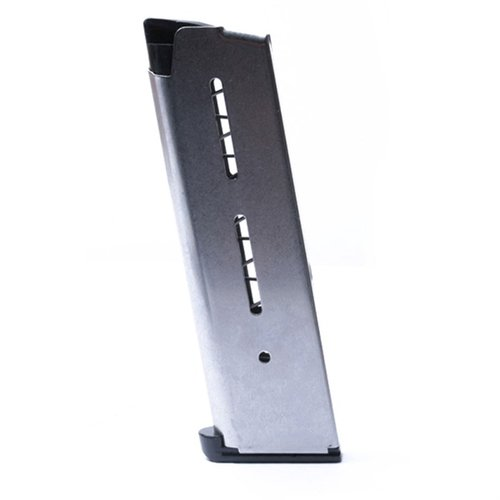 1911 Full-Size Magazine-45ACP-8 RD-Lo-Profile Steel Base
